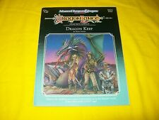 DLE3 DRAGON KEEP DRAGONLANCE DUNGEONS & DRAGONS AD&D 2ND ED TSR9245 - 2 WITH MAP