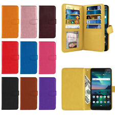 """For Nokia 3.1 Plus 2019 6"""" Cricket Version PU Leather Wallet Cover Case w/ Strap"""