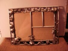 Baby Animals Silver Child's Multi Picture Holder Frame 8X6 1/2 inches