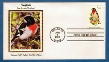 Colorano 4889 Songbirds - Rose-Breasted Grosbeak - Dallas, Texas First Day Cover