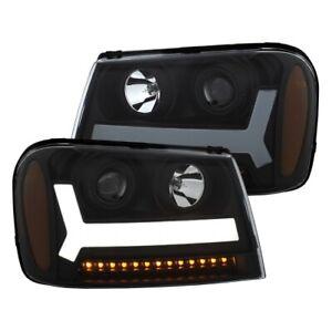 Anzo 111390 Projector Headlight Set For 06-09 Trailblazer NEW
