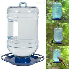 Bird Water Bottle Feeder Wild For Birds Variety Drink Hanging - New