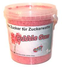 1 Kg Farbomazucker BubbleGum Zucker Popcorn färben Farbiges Popcorn Pink / Rosa