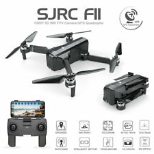 SJRC F11 Foldable Brushless GPS RC Drone 5G WiFi FPV 1080P HD Camera Quadcopter