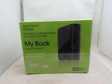 Western Digital 500 GB My Book External Hard Drive 100% new sealed in package