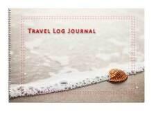 Caravan or Motorhome Owners, Travel Record Log & Journal - Seashell on a Beach