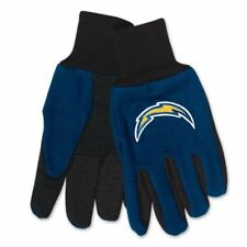 NFL Los Angeles Chargers Utility 2 Tone Palm Gloves