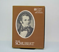 Great Men Of MusicFranz Schubert   Time Life 4 Cassette Tape Set Pre-Owned