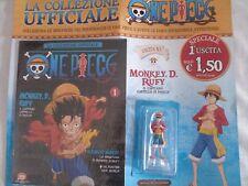 ONE PIECE:Hachette Uscita N°1 Monkey D. Rufy Collezione Ufficiale  Action Figure