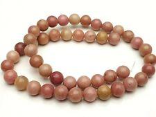 Rhodochrosite Edelstein Perlen rosa rund Kugel Gemstone beads 8 mm