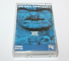 Jim Hall Concierto Cassette Tape CTI Records 0606.060 Jazz