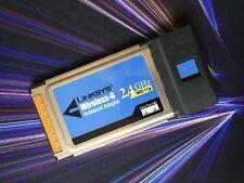 Linksys Wireless-G Notebook Adapter 2.4 GHz 802.11g WPC54G Ver. 3