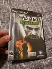 Tom Clancy's Splinter Cell: Double Agent (Sony PlayStation 2, 2006)brand new
