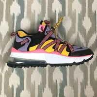 Nike Air Max 270 Bowfin Men's Running Shoes Black/Atomic Violet Sneakers Size 11