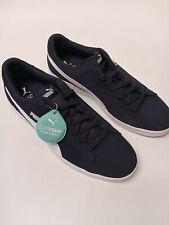 Puma Smash V2 M Suede 364989-04 Mens Navy Blue/white Sneakers Sz 10 new