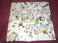Led Zeppelin III Orig.1970 UK Plum Celebration Error Misprint  So Be Mote Etched
