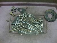 81 HONDA CB400 CB 400 CB400T HAWK BOX OF BOLTS, NUTS, WASHERS #JJ15