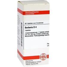 BERBERIS D 4 80St Tabletten PZN:1760693