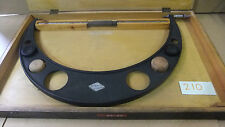 """Ex-Ministry Moore & Wright 22"""" - 23"""" External Micrometer, Boxed, For Restoration"""