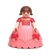 Playmobil Figure Princess Castle Girl Child Wedding Flower Girl Hoop Skirt 4137