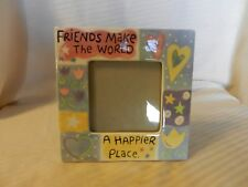 Friends Make The World A Happier Place Ceramic Photo Frame from Elsa