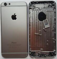 iPhone 6  Akkudeckel Backcover  Rückseite aus Alu  Space Grau