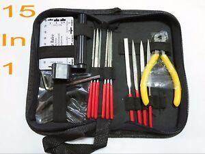 Luthier Guitar Care Kit Repair Maintenance Tools Full Set Guitar Tool Kit Pliers