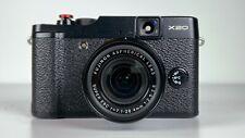 Fujifilm X Series X20 12.0MP Digital Camera -Black- NEAR MINT