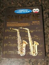 The Complete Learn to Play Saxophone Manual - Peter Gelling - New w/ 2 Audio CDs