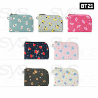BTS BT21 Official Authentic Goods Pattern Card Pocket By Monopoly 95x126x16mm