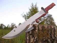 Massive machete 51 cm + TOP coltello a serramanico 22 cm-Coltello Couteau m011 + k001