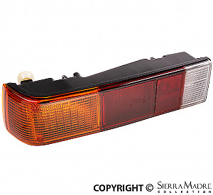 Complete Taillight Assembly, EURO, Left, Porsche 914 (70-76)  914.631.403.13