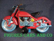 MOTO EN TOLE MECANIQUE HARLEY INDIAN CHINE ANNEES 90 LONGUEUR 25cm