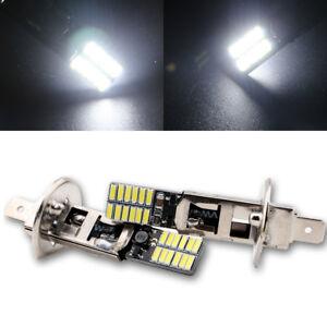 10Pcs White Car H1 Fog Light Tail Blubs 3014 LED 24SMD ERROR FREE Canbus LED12V