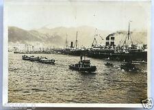 Japon . Kobe . harbour . le port . photo ancienne vers 1920