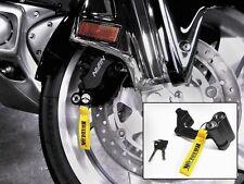 ROADLOK Anti-Theft System Black Caliper Lock for Honda GL1800/ VTX1800
