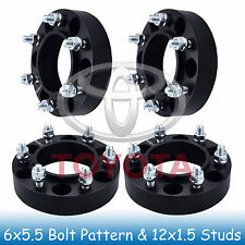 """1.5"""" Toyota 6 Lug Hubcentric Wheel Spacers 6x5.5 6x139.7 Fits For Tacoma 01-07"""