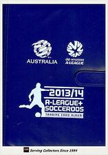 2013-14 Australia A League + Socceroos Trading Cards Official Album (No pages)