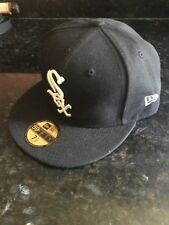 Chicago White Sox MLB Authentic On-Field New Era 59FIFTY Fitted Cap - Black