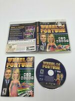 Sony PlayStation 3 PS3 CIB Tested Complete Wheel of Fortune Ships Fast