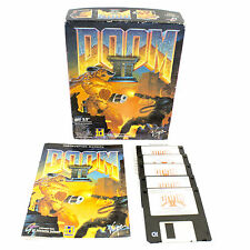 DOOM II for MS-DOS by id Software, Big Box, 1994, Sci-Fi / Futuristic, Shooter