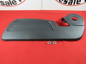 DODGE NITRO Front Driver Seat Trim Panel With Clips NEW OEM MOPAR
