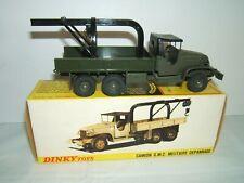 DINKY GMC MILITAIRE DEPANNAGE neuf en boite d'origine réf. 808
