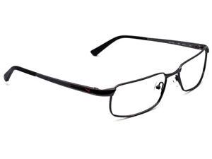 Nike Titanium Eyeglasses 6034 001 Black Rectangular Metal Frame 55[]16 140