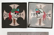 #314 SPECIAL FORCES ODA 2081 PATCH