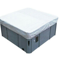 Oxford Fabric Hot Tub Spa Cover Waterproof Dust Protector Case GardenSE