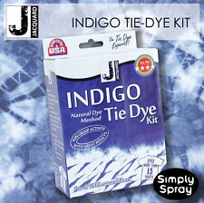 INDIGO Tie Dye Kit - Jacquard dyes up to 15 t-shirts, 2.26kg of fabric-FREE POST