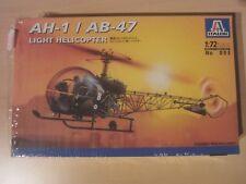 TOP! ITALERI 095 ah-1/ab-47 Light Helicopter 1:72 dans neuf dans sa boîte!!!