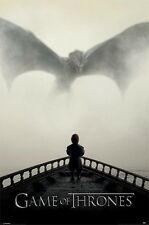 GAME OF THRONES LION & DRAGON  POSTER (61x91cm)  PICTURE PRINT NEW ART