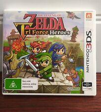 Nintendo | The Legend Of Zelda | Tri Force Heroes | 3DS | 2 DS | PAL 🗡